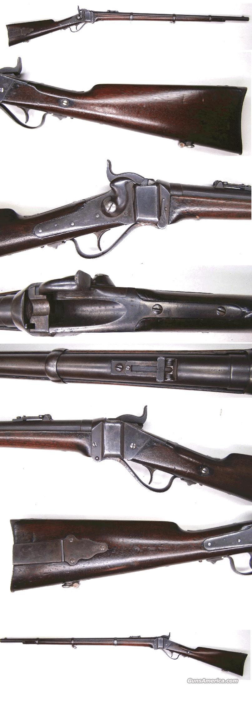 Sharps Model 1874 Military Rifle    Guns > Rifles > Sharps Rifles - Pre-1899