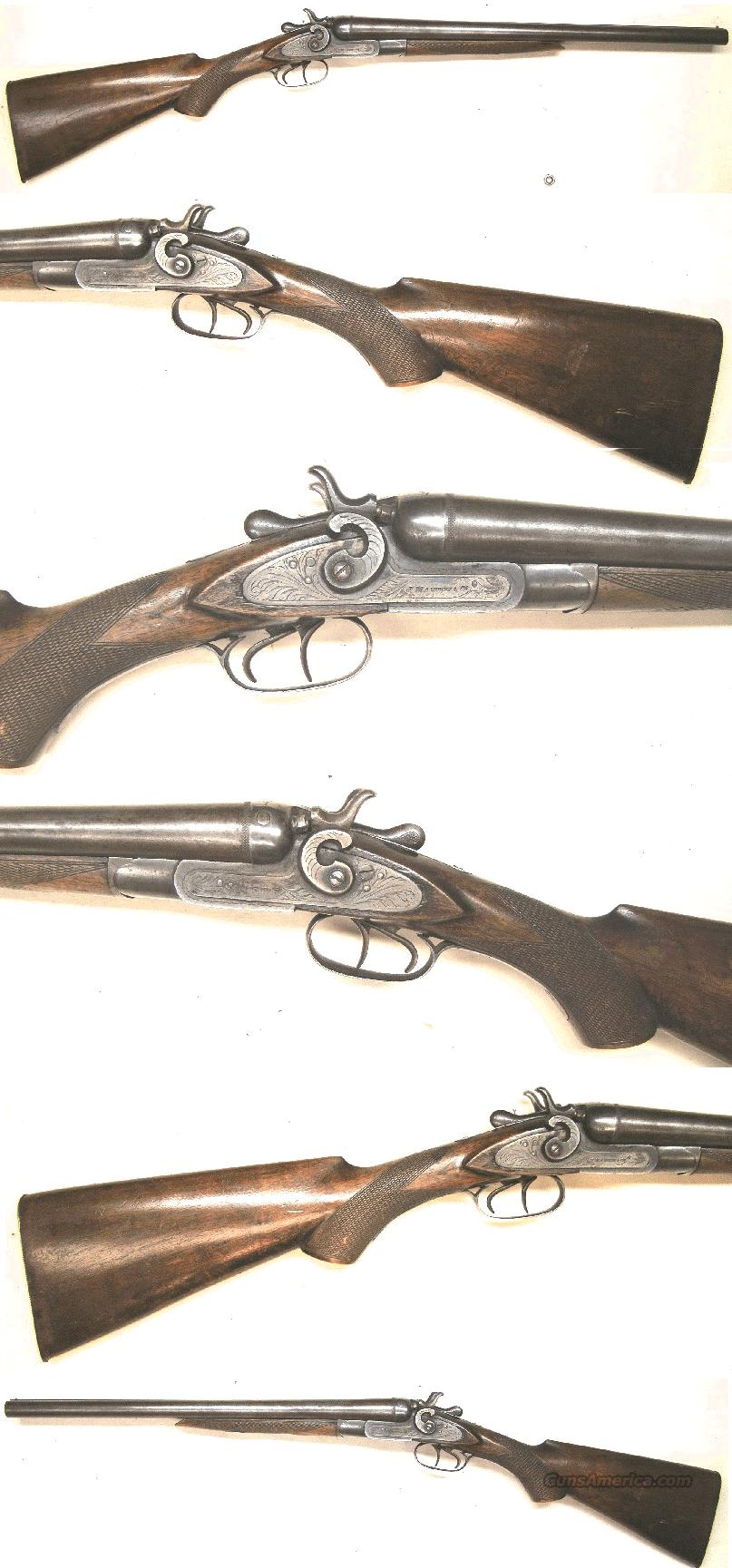 J.Manton & Co Coach Gun  12 ga  Guns > Shotguns > Antique (Pre-1899) Shotguns - Misc.