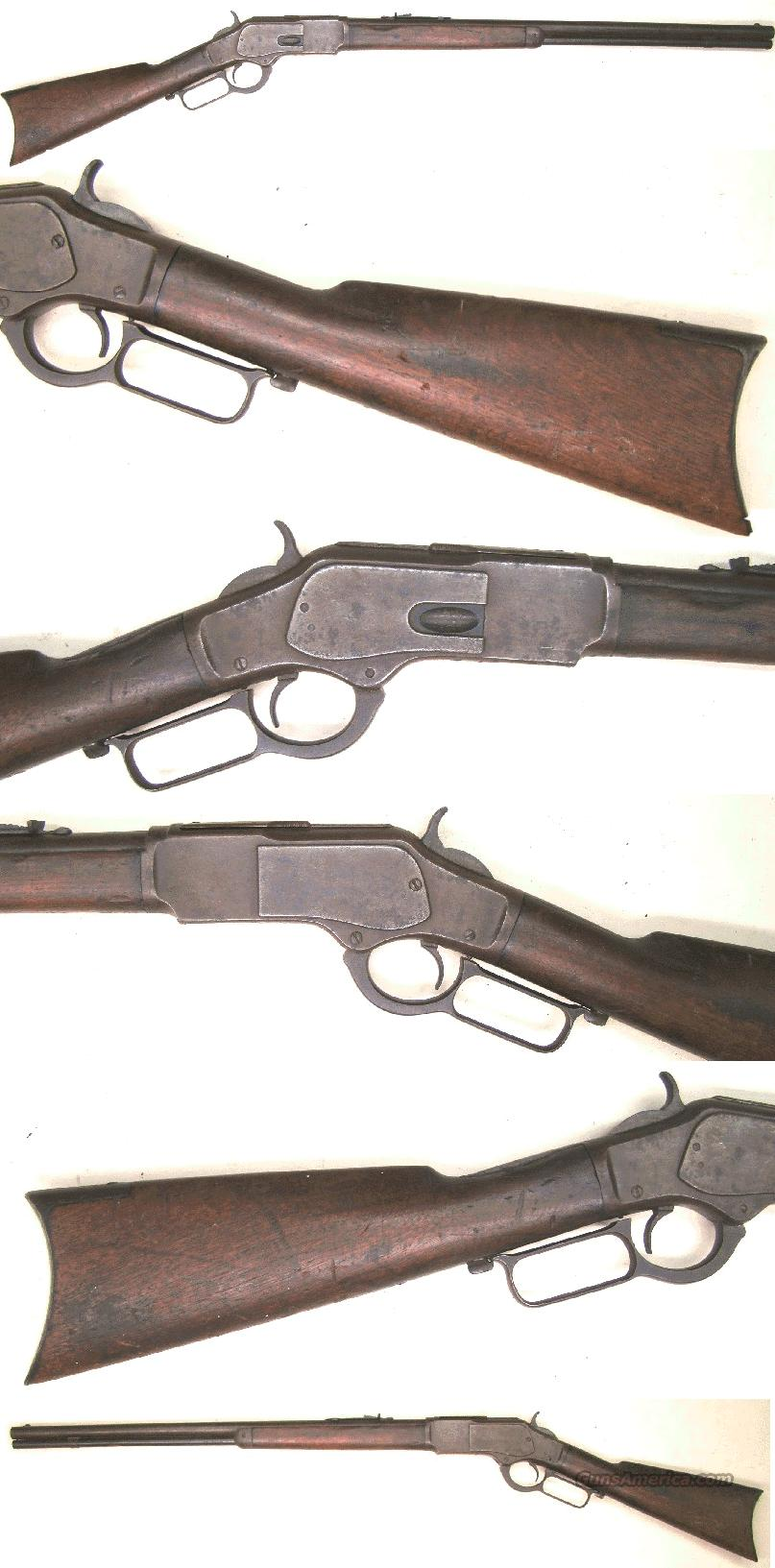Winchester Model 1873 Rifle 32-20  Guns > Rifles > Winchester Rifles - Pre-1899 Lever