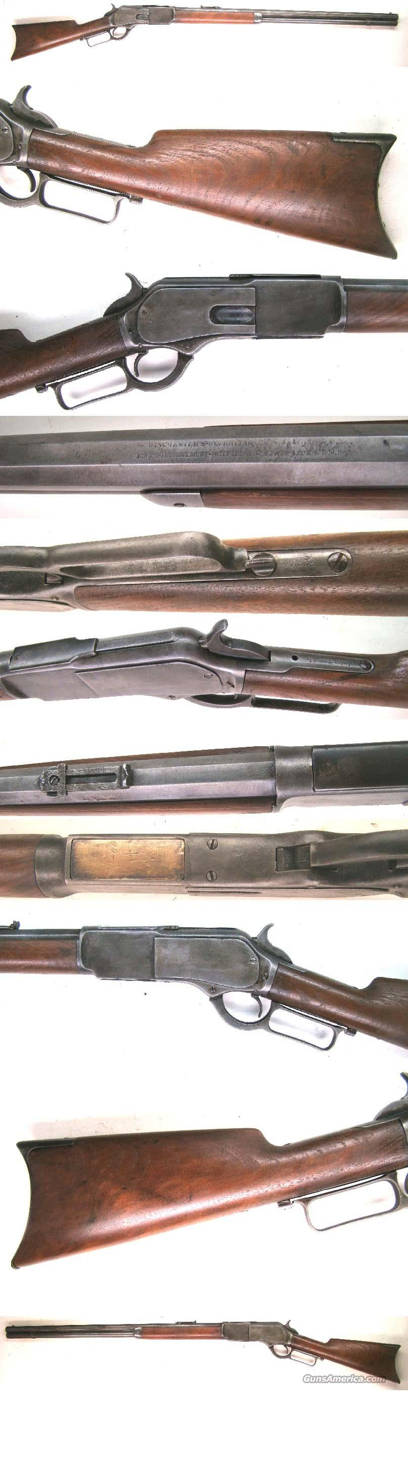 Winchester Model 1876 Rifle   Guns > Rifles > Winchester Rifles - Pre-1899 Lever