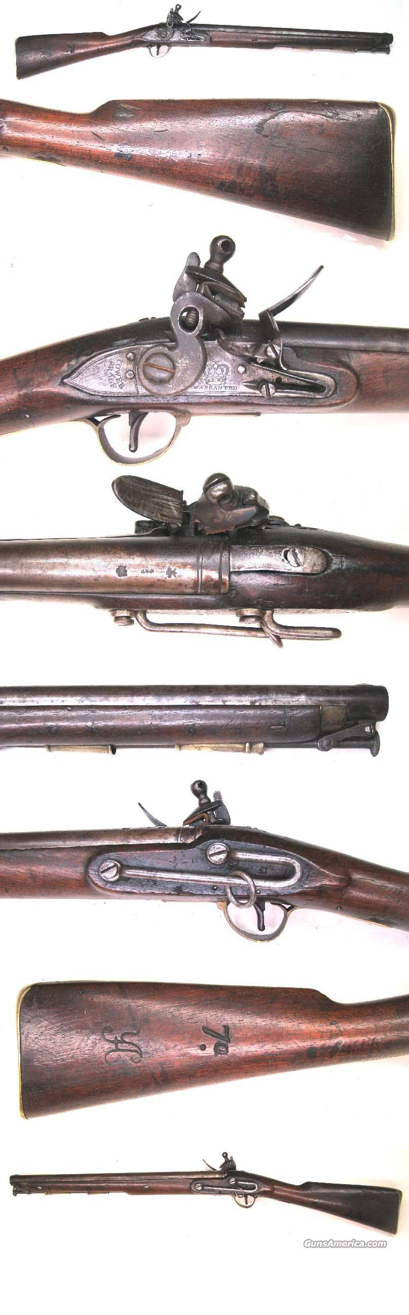 English Flintlock Paget Carbine  Guns > Rifles > Muzzleloading Pre-1899 Rifles (flint)