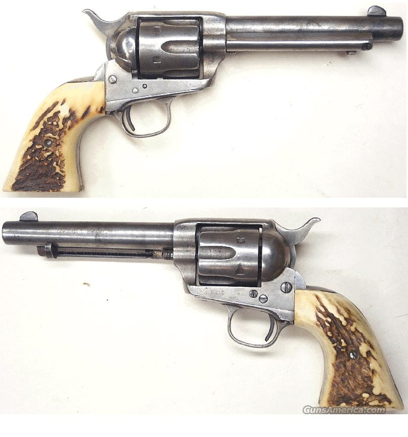 "Colt SAA  44-40  5 1/2"" bbl  Guns > Pistols > Colt Single Action Revolvers - 1st Gen."