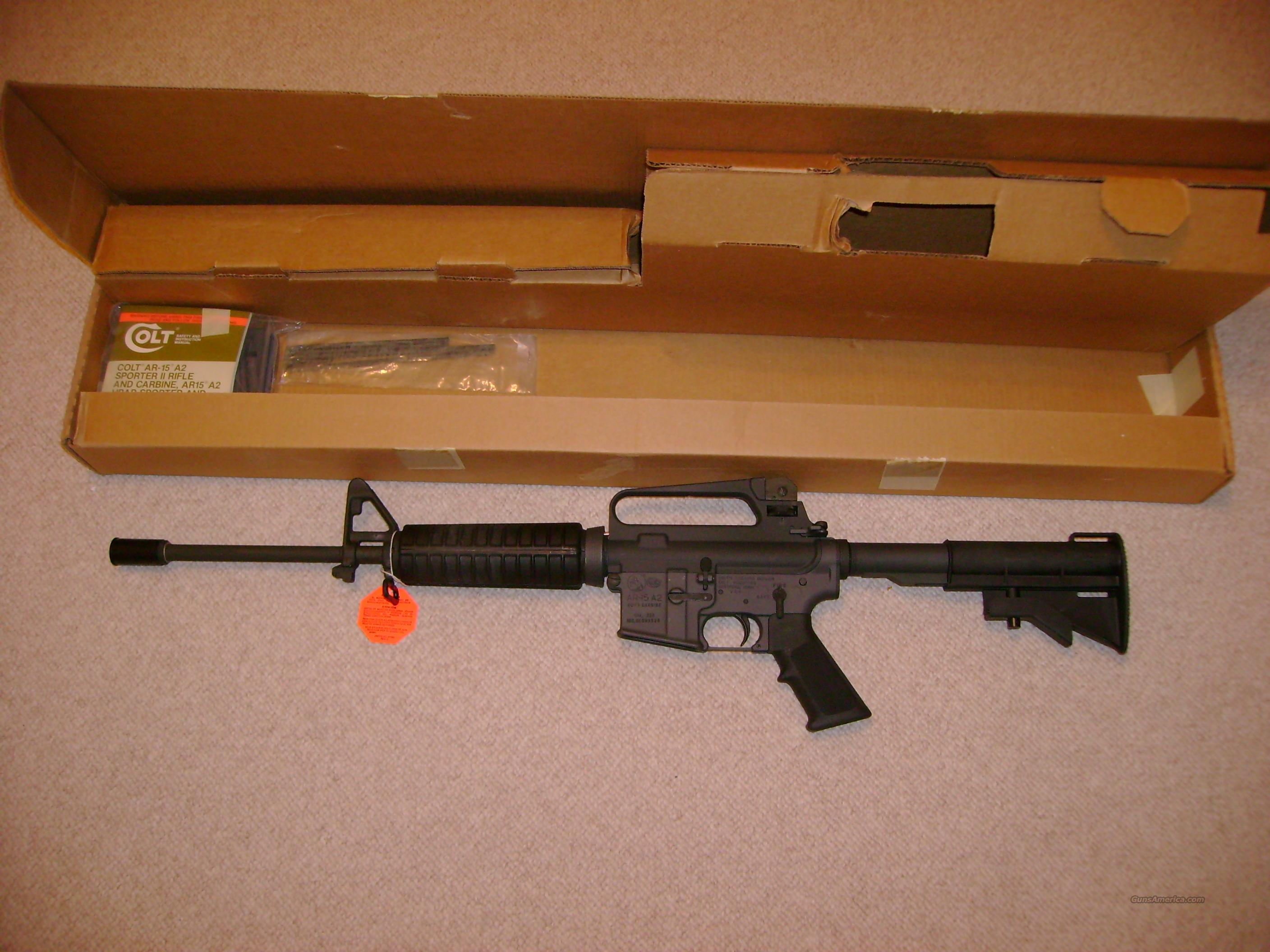 NIB COLT GOVERNMENT  R6520 GREEN LABEL  Guns > Rifles > AR-15 Rifles - Small Manufacturers > Complete Rifle