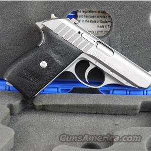 Sig Sauer P232 .380 Pistol, Stainless Finish, Standard Sights - LIKE NEW IN BOX!  Guns