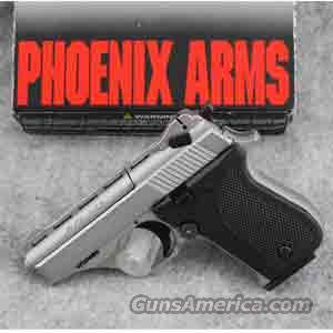 Phoenix Arms HP25A .25 ACP Pistol Nickel Finish - USED IN LIKE NEW CONDITION!  Guns
