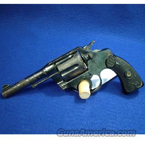 "WOODYS BARGAIN BIN - Colt Police Positive Special .32-20 WCF, First Issue, 4"" Barrel - USED IN FAIR CONDITION  Guns"