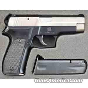 Sig Sauer P226 9mm Pistol Nickel Finish, West German, Night Sights, in Factory Box -USED IN GOOD CONDITION!  Guns