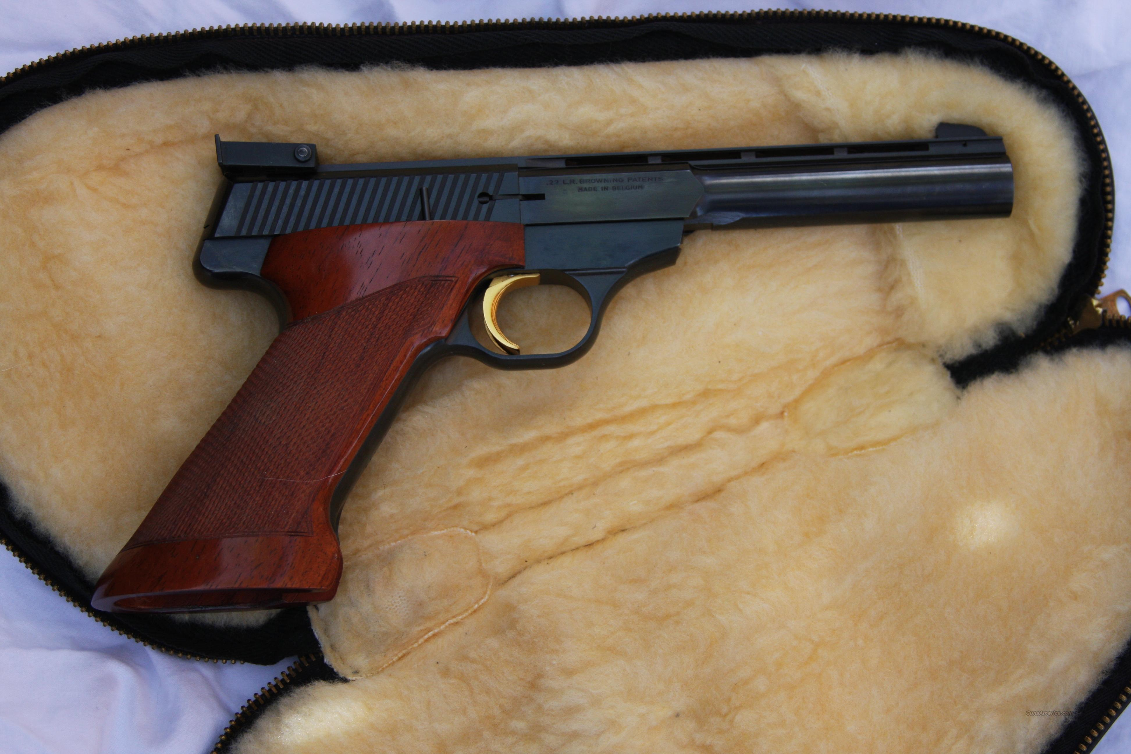 Browning International Medalist  Guns > Pistols > Browning Pistols > Other Autos