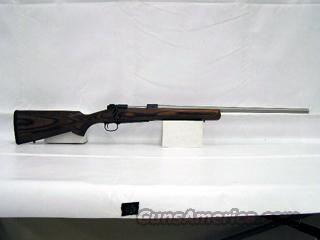 Winchester Model 70 Coyote Stainless Rugged brown laminated stock with a reverse taper fore-end. No longer in production. .308 WIN  Guns > Rifles > Winchester Rifles - Modern Bolt/Auto/Single > Model 70 > Post-64