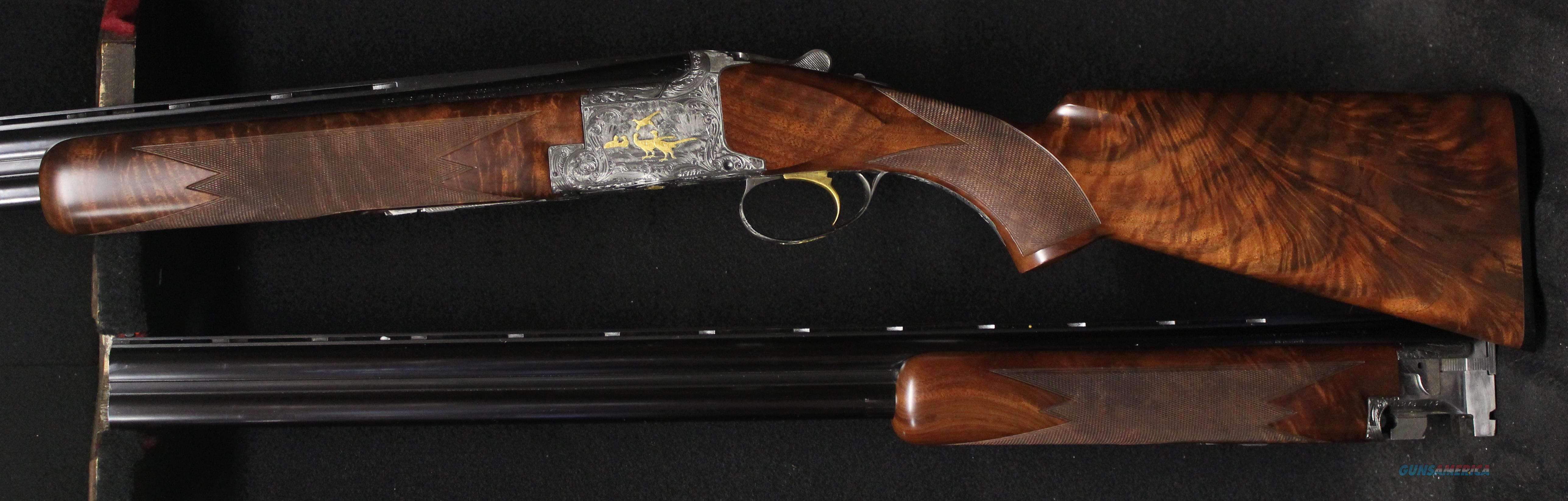 Browning Superposed Diana Grade 12 & 20 Ga combo set  Guns > Shotguns > Browning Shotguns > Over Unders > Belgian Manufacture
