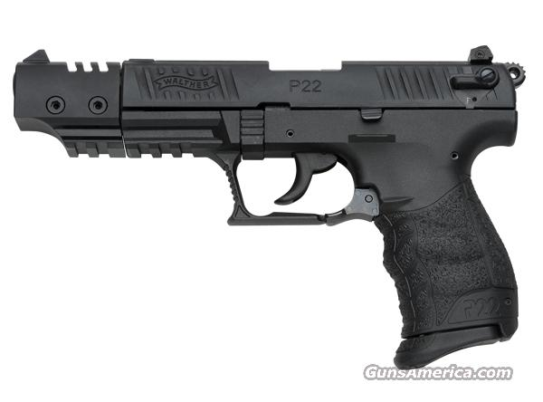 "Walther P22 Target 5"" Barrel  Guns > Pistols > Walther Pistols > Post WWII > Target Pistols"