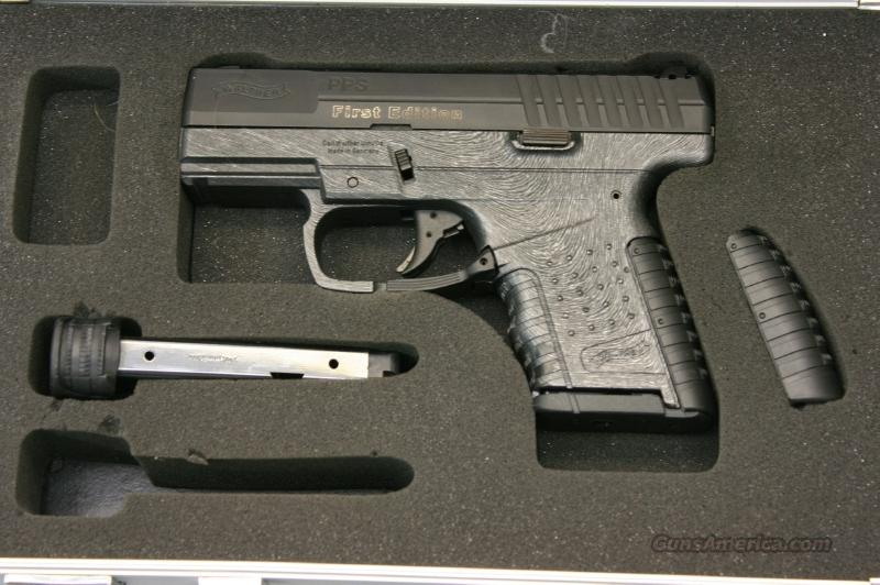 First Edition Walther PPS .9mm RARE EURO EDITION.  Guns > Pistols > Walther Pistols > Post WWII > PPS