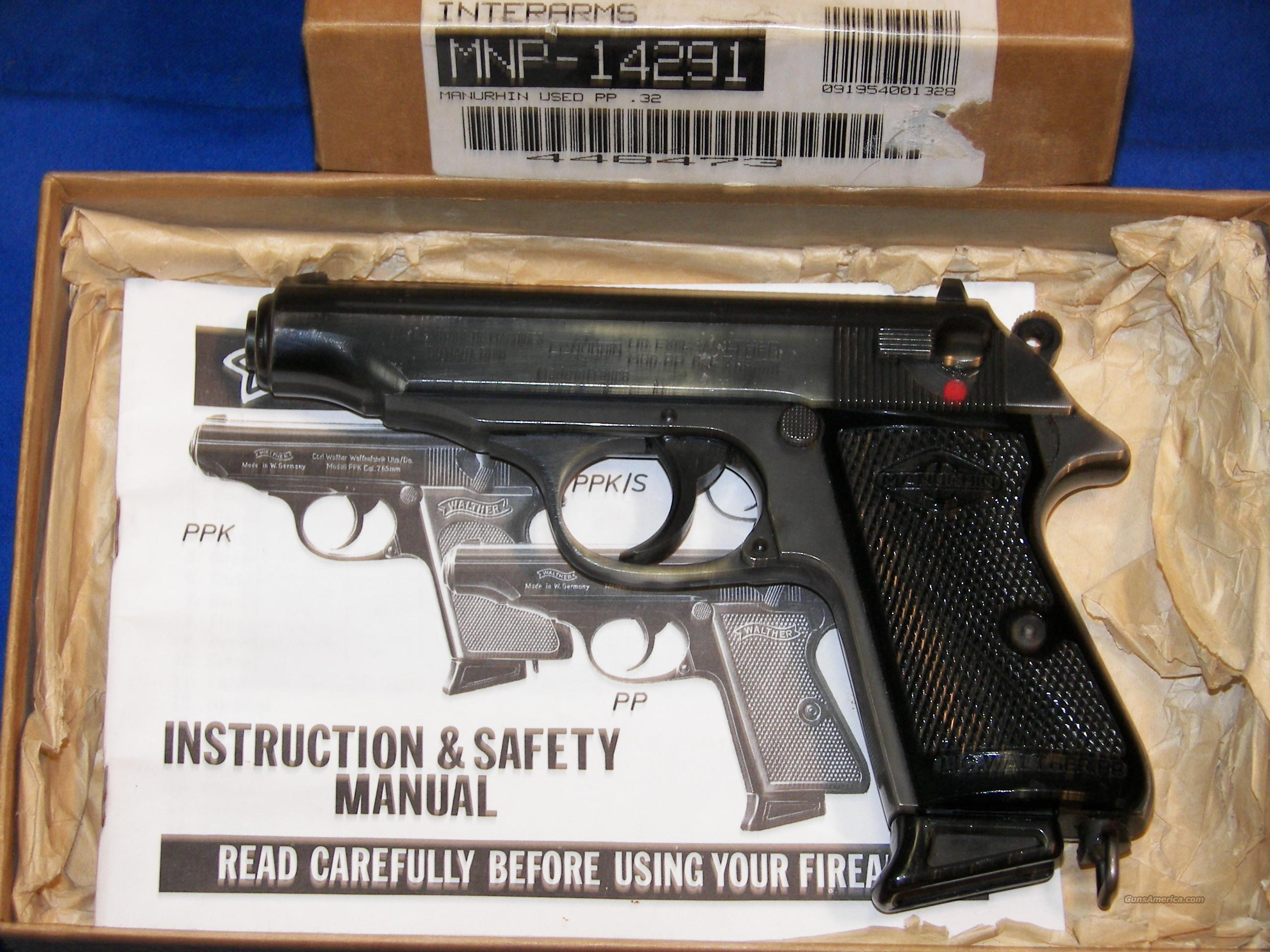 walther pp 32 acp manurhin for sale rh gunsamerica com walther pp super manual walther pp sport manual