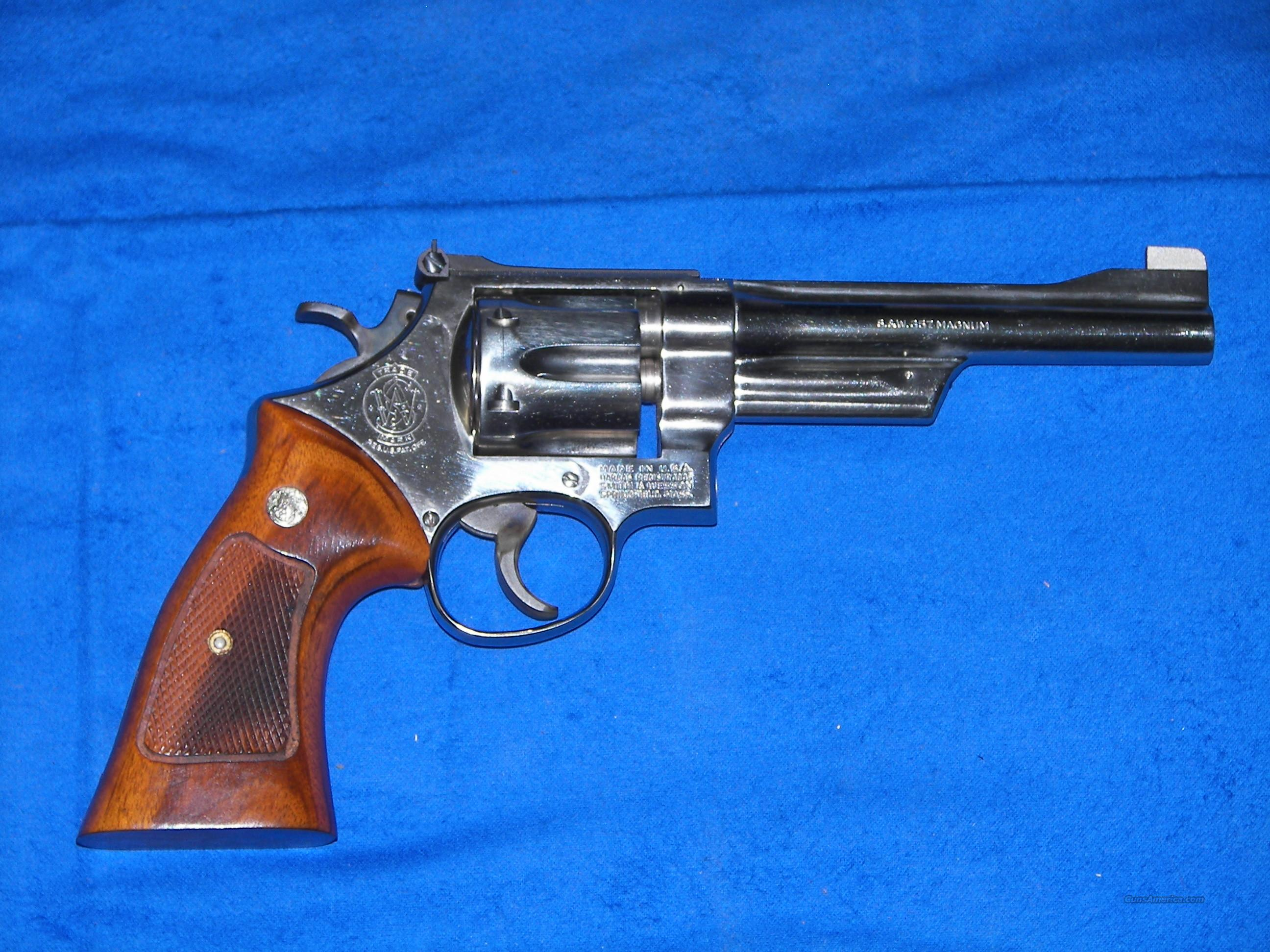 SMITH & WESSON 27-2  NICKEL  .357 MAGNUM  Guns > Pistols > Smith & Wesson Revolvers > Full Frame Revolver