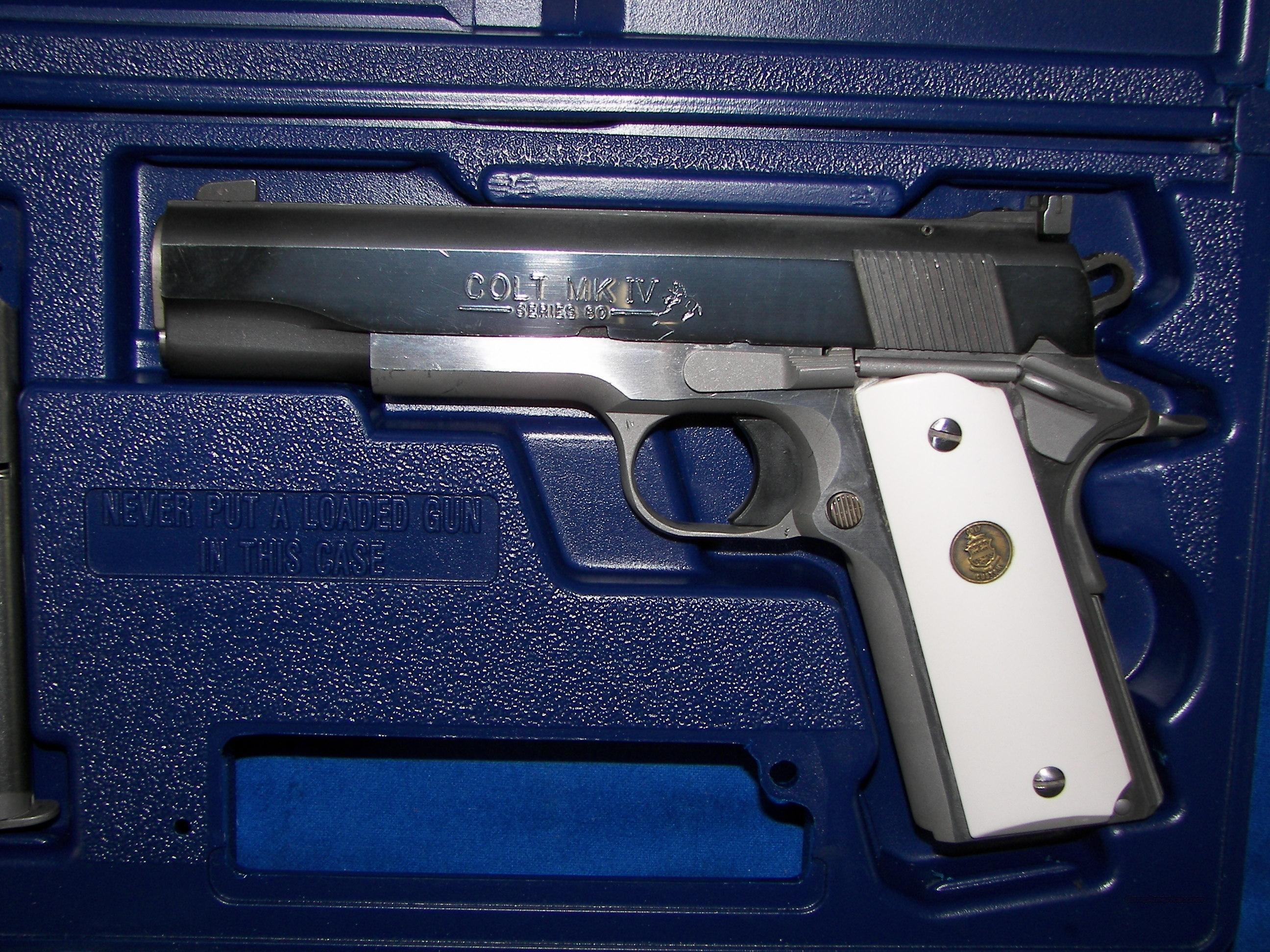 Colt combat elite custom shop edition mk iv for sale for Custom elite
