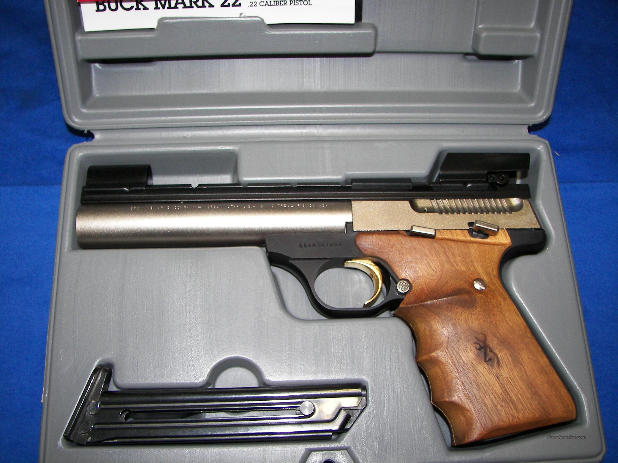 Used Campers For Sale In Pa >> BROWNING BUCK MARK 5.5 NICKEL TARGET for sale (990711591)