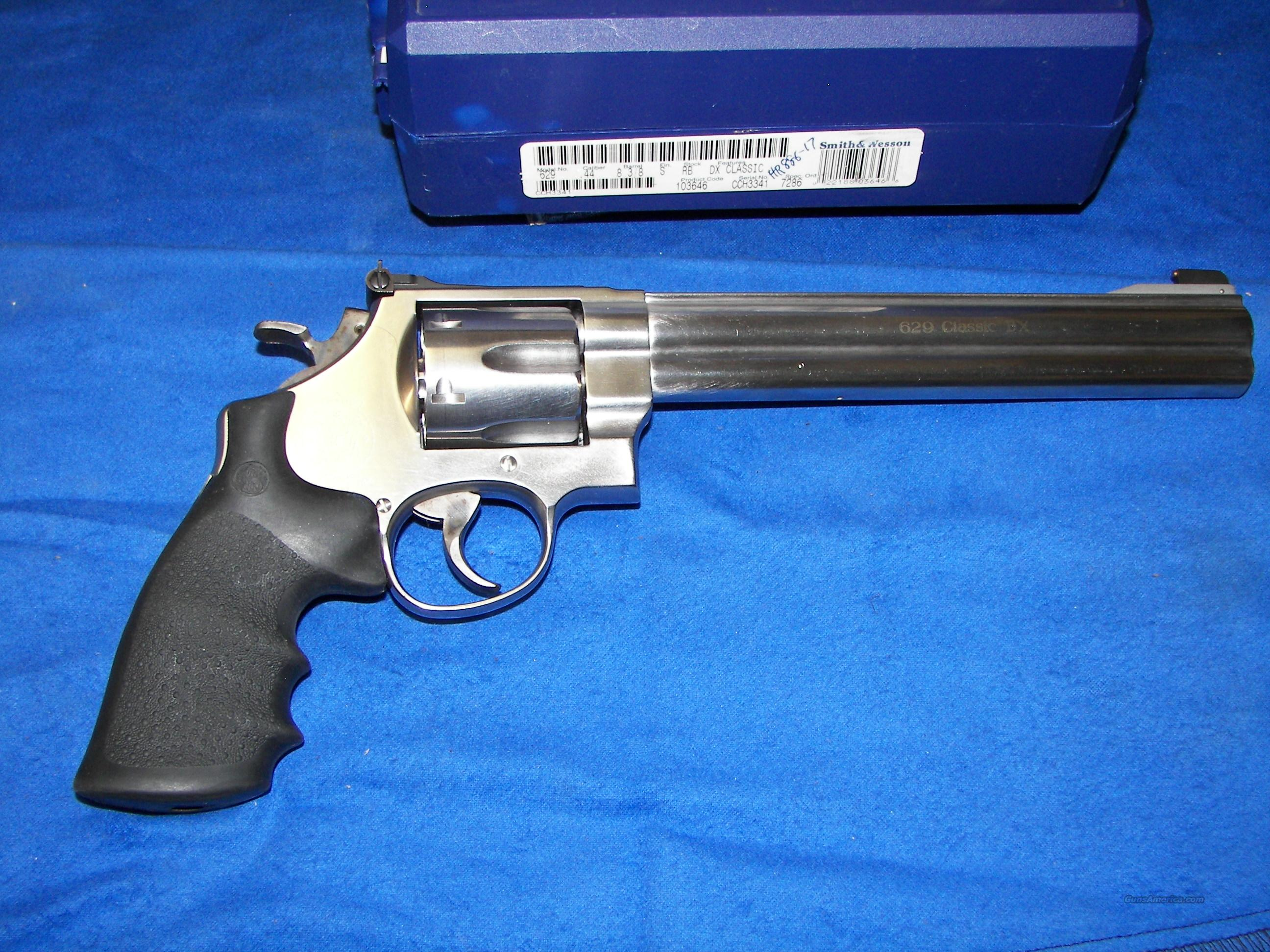 "S&W 629 -4 CLASSIC DELUXE .44 MAG 8 3/8"" AS-NEW  Guns > Pistols > Smith & Wesson Revolvers > Model 629"