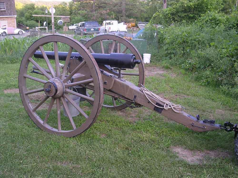 1861 Parrott Rifle  Guns > Rifles > Cannons > Modern Replica