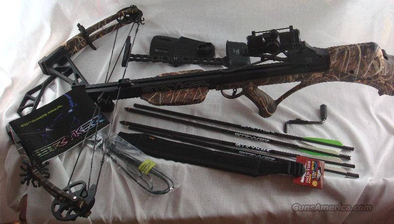 Bowtech Stryker Crossbow 405 FPS Like New  Non-Guns > Archery > Bows > Crossbows