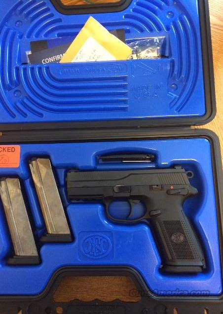 FN FNX 9mm Night Sights High Capacity 17+1 Mags  Guns > Pistols > FNH - Fabrique Nationale (FN) Pistols > FNP