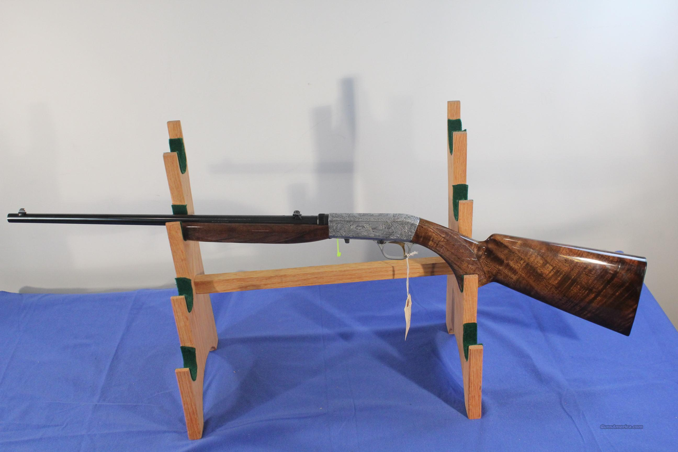 Browning Belgium ATD 1972 Grade III Automatic Takedown .22lr rifle  Guns > Rifles > Browning Rifles > Semi Auto > Hunting