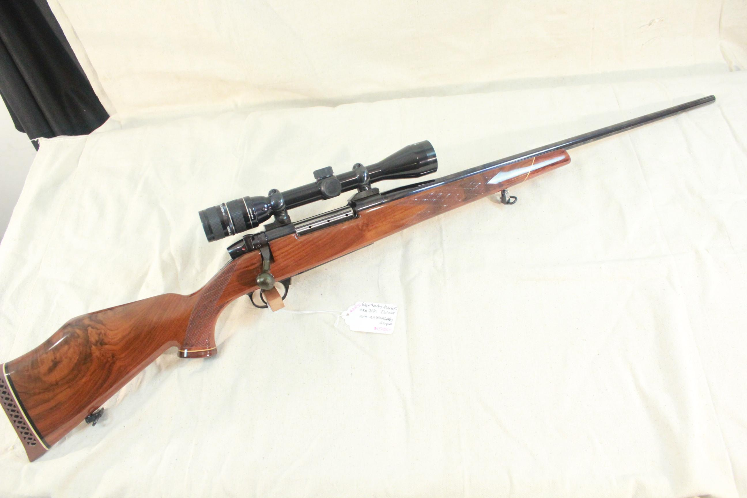 Weatherby Mark V Deluxe in 7mm WM w/3-9x Weatherby Premier scope  Guns > Rifles > Weatherby Rifles > Sporting