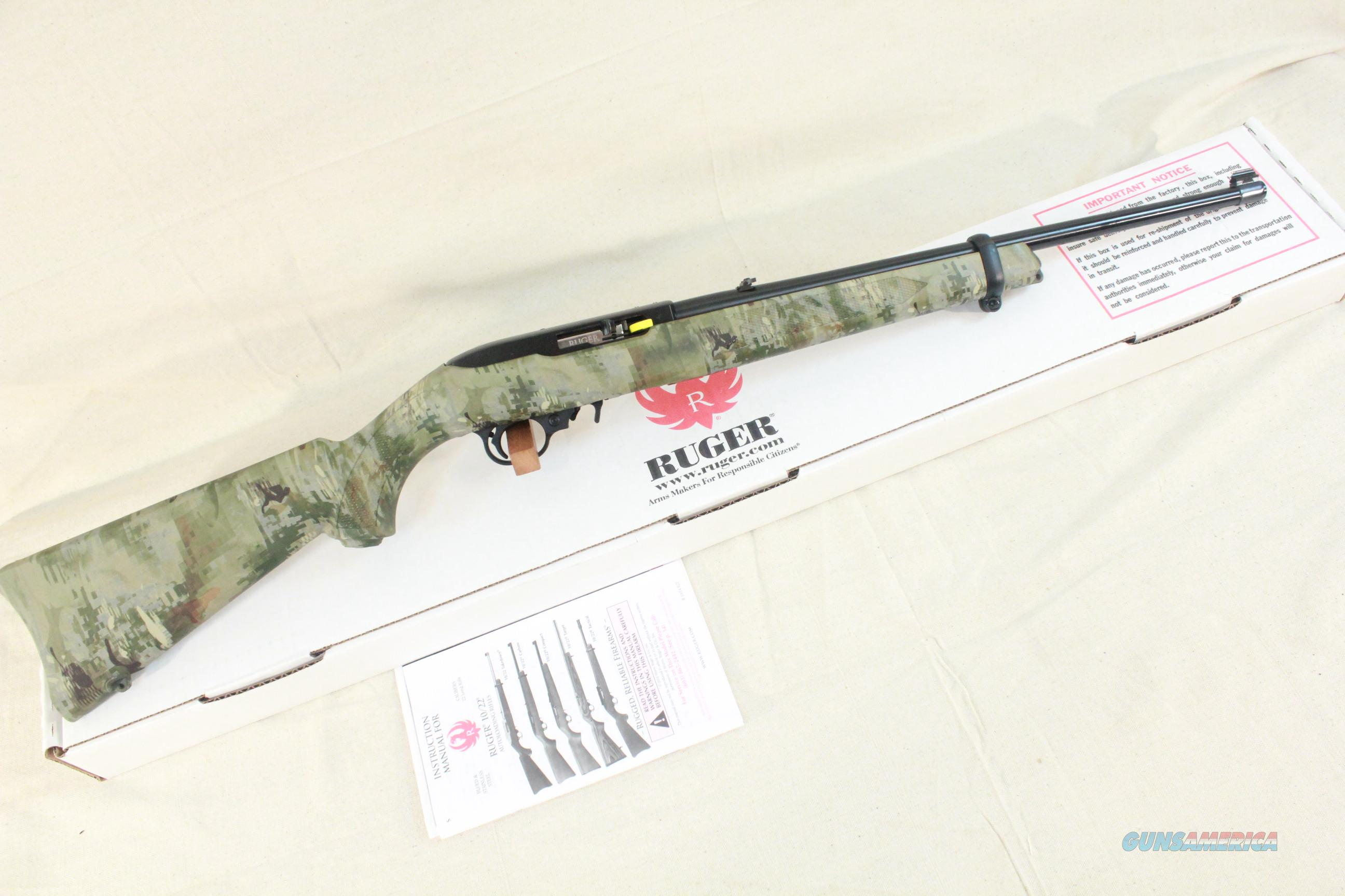 Ruger 10/22 RPC-W Camouflage 10-shot, New in the Box  Guns > Rifles > Ruger Rifles > 10-22