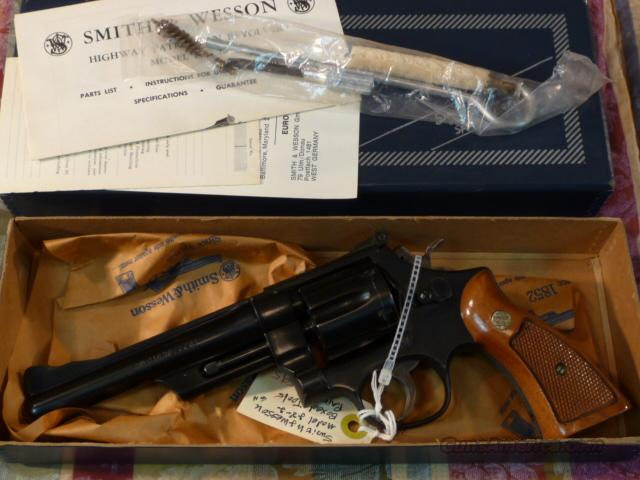 "Smith & Wesson S & W Model 28 6"" .357 Magnum  Guns > Pistols > Smith & Wesson Revolvers > Full Frame Revolver"
