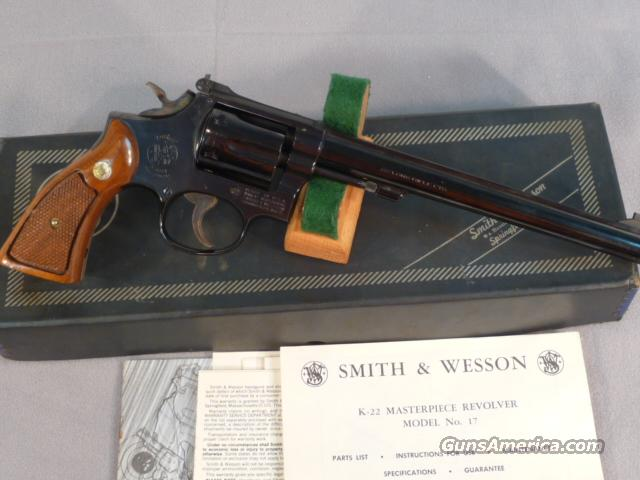 "Smith & Wesson Model 17-3 with 8-3/8"" barrel boxed  Guns > Pistols > Smith & Wesson Revolvers > Full Frame Revolver"