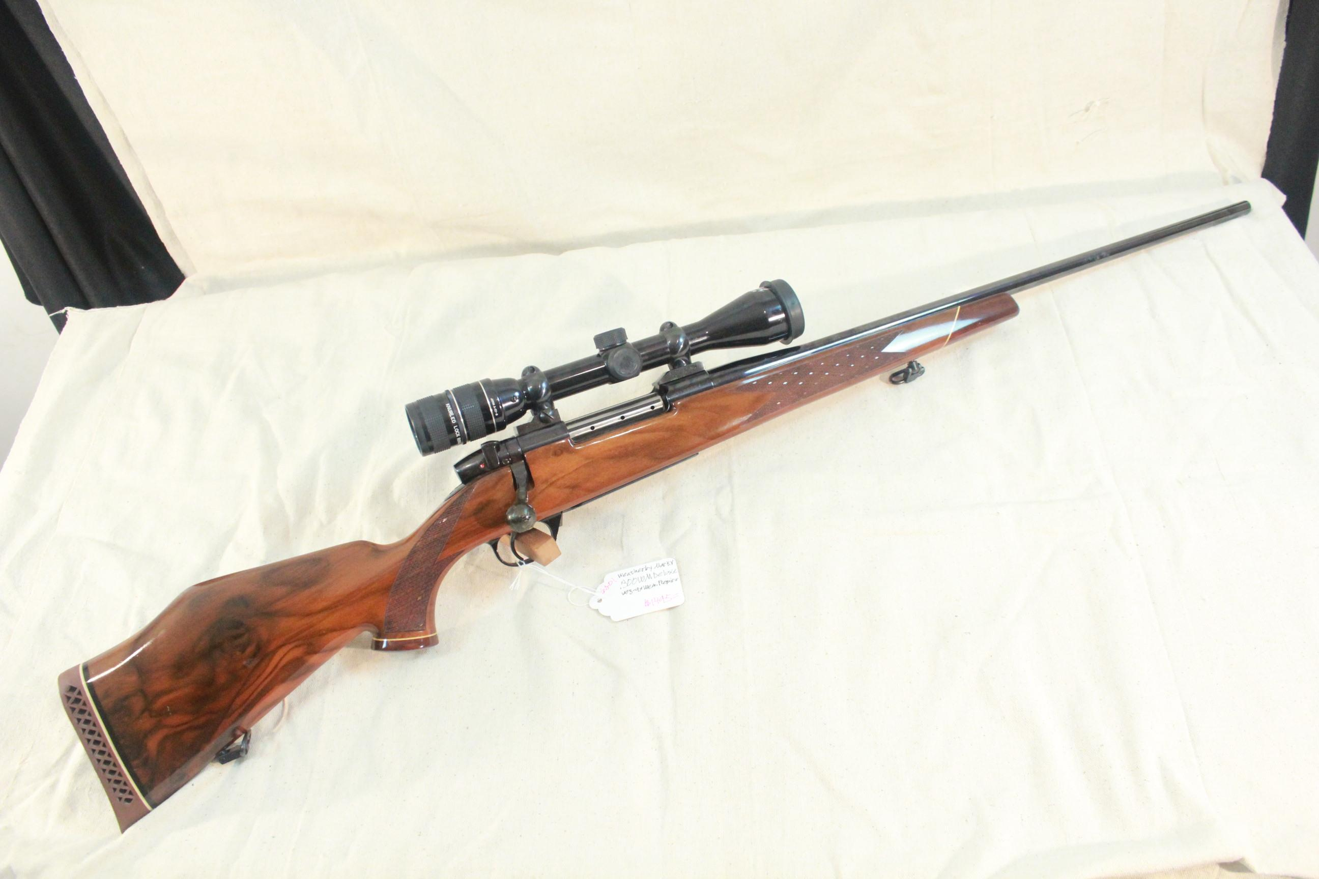 Weatherby Mark V Deluxe in .300 WM with 3-9x Weatherby Premier Widefield Duplex Scope  Guns > Rifles > Weatherby Rifles > Sporting