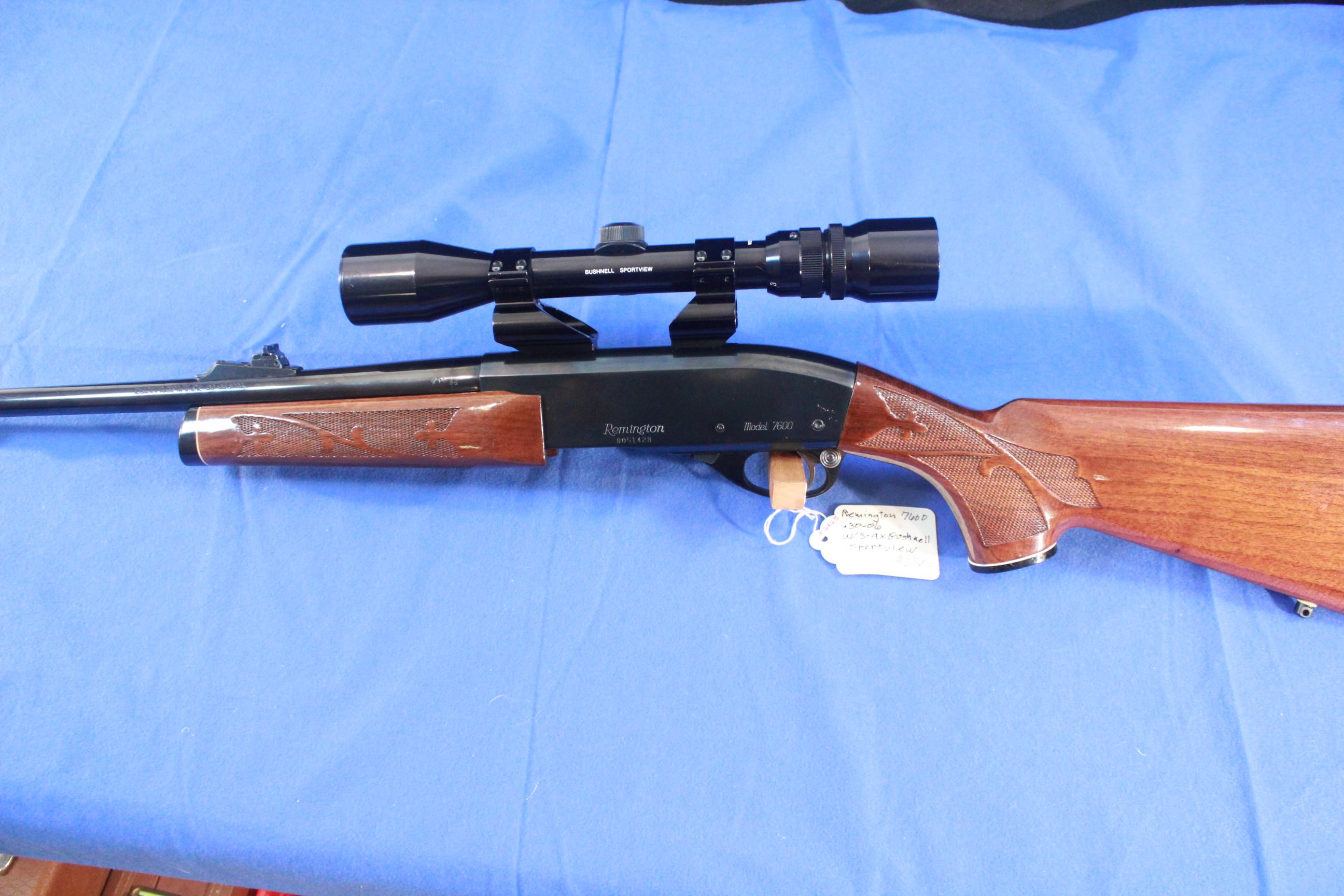 Remington Model 760 with 3-9x Bushnell Scopechief  Guns > Rifles > Remington Rifles - Modern > Other