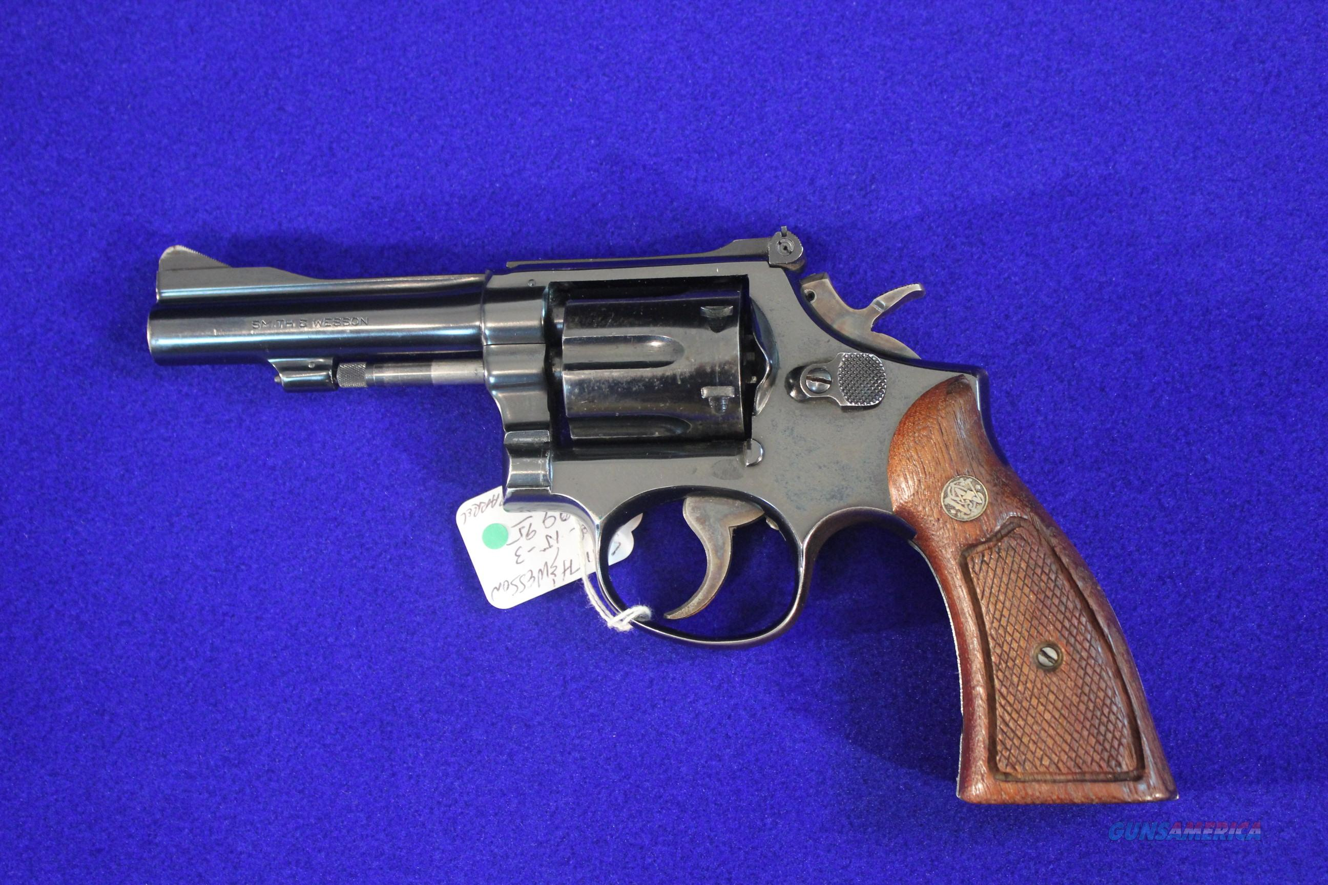 "Smith & Wesson Model 15-3, 4"", .38 Special  Guns > Pistols > Smith & Wesson Revolvers > Full Frame Revolver"