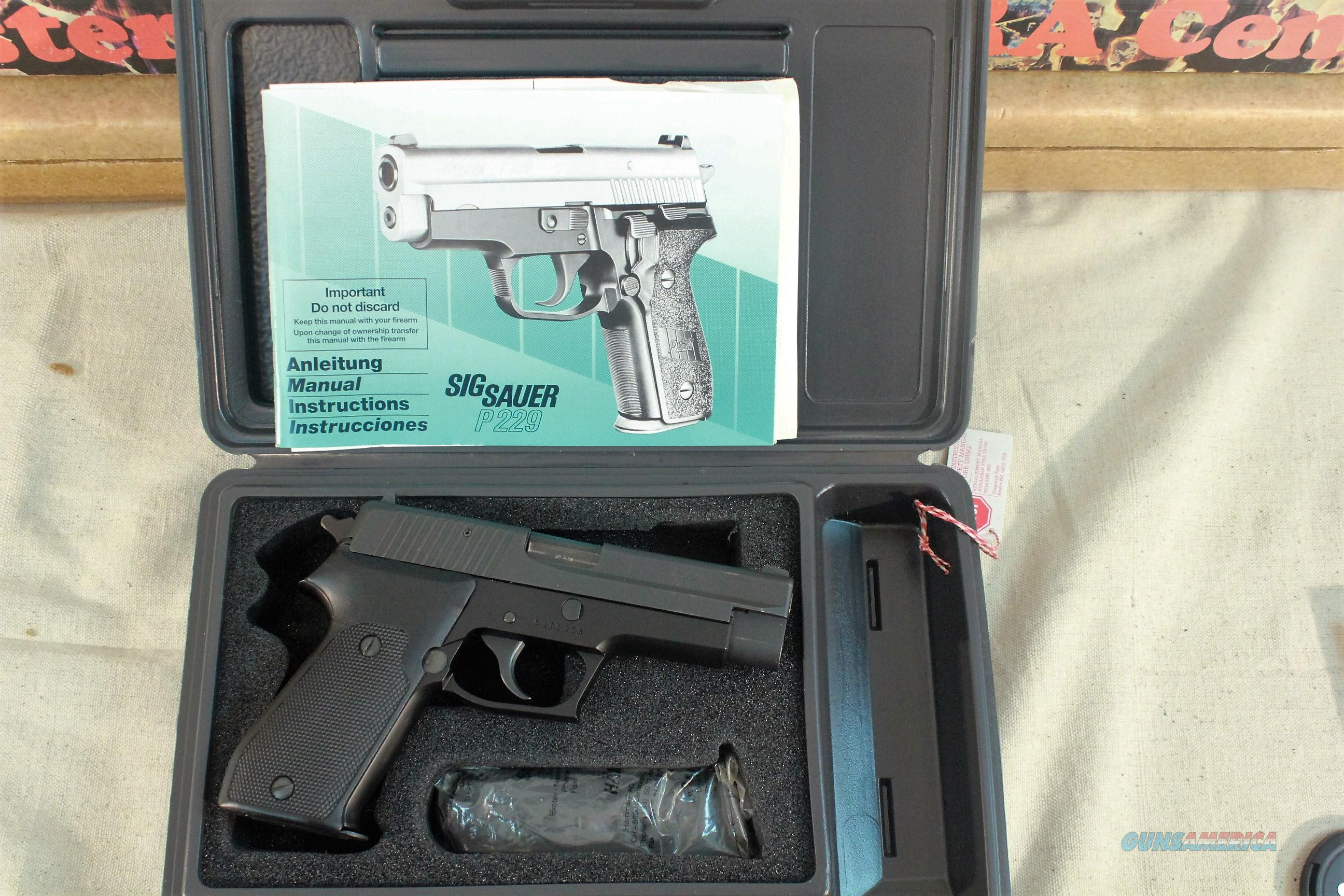 "Sig Sauer P220 .45acp Like New, 4-1/2"" barrel, Unfired in the Box with 2 magazines  Guns > Pistols > Sig - Sauer/Sigarms Pistols > P226"
