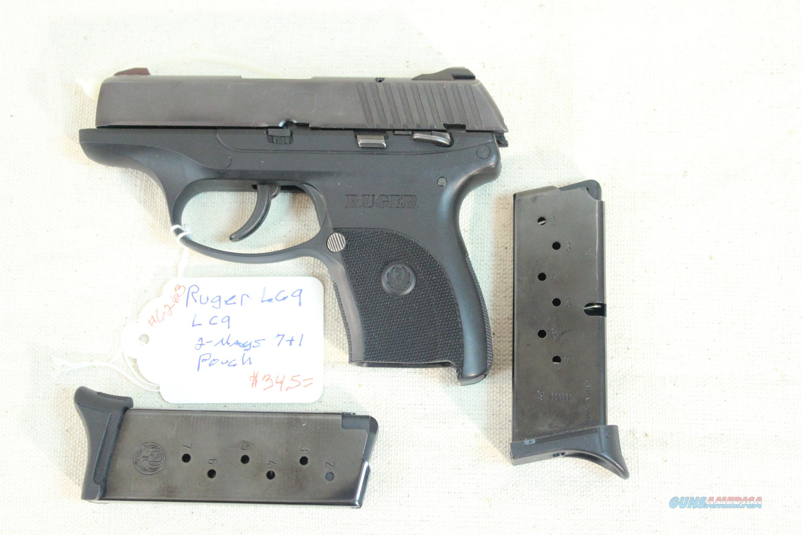 Ruger Model LC9 9mm w/2 7+1 factory magazines and pouch.  Guns > Pistols > Ruger Semi-Auto Pistols > LC9