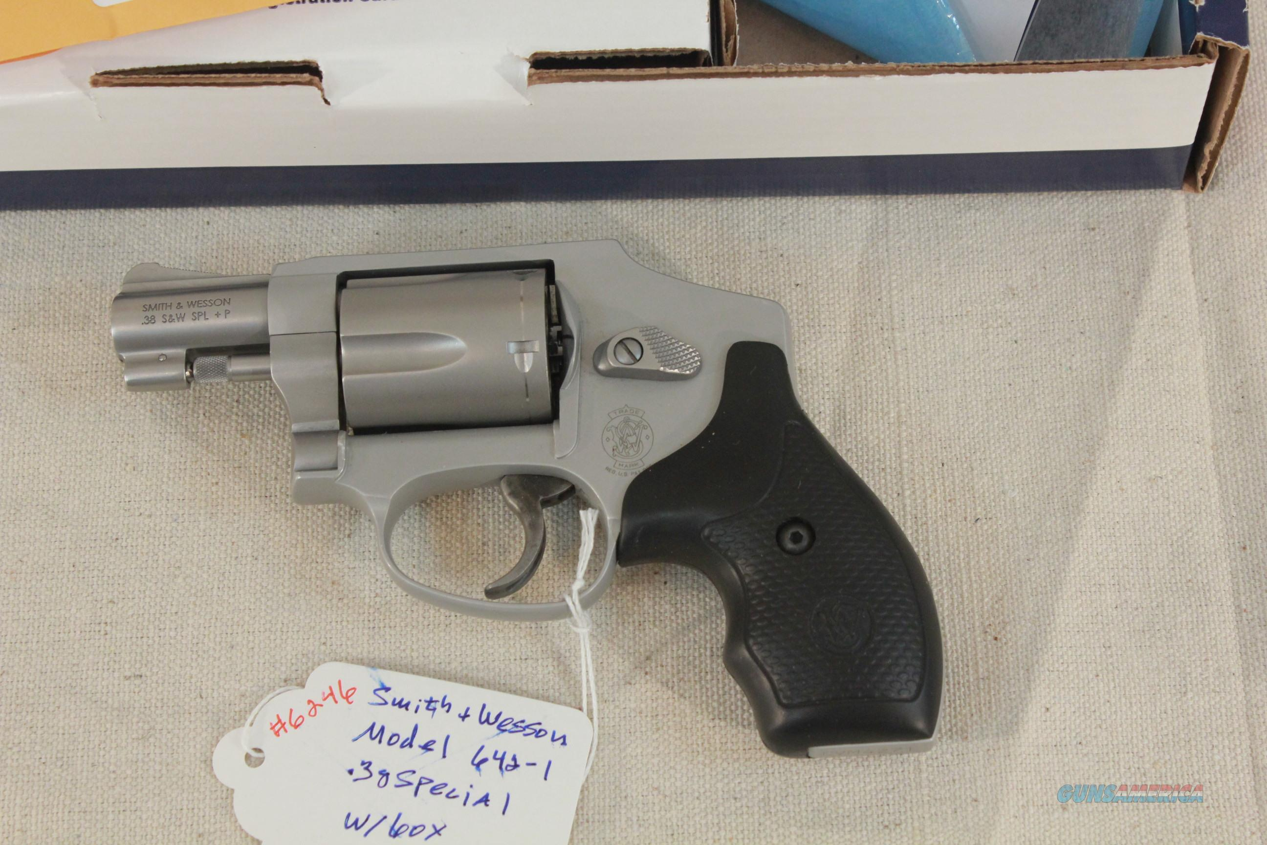 Smith & Wesson Model 642 Airweight .38 Special, Like New  Guns > Pistols > Smith & Wesson Revolvers > Pocket Pistols