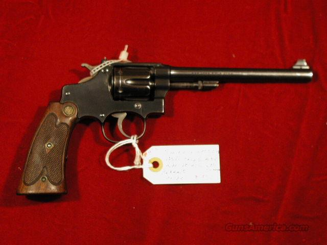 Smith & Wesson S & W .22/.32 Heavy Frame Target Hand Ejector .22lr  Guns > Pistols > Smith & Wesson Revolvers