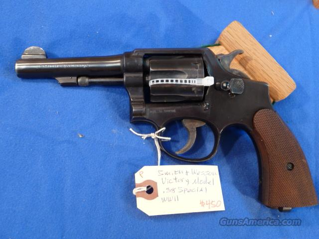 Smith & Wesson Victory Model .38 Special  Guns > Pistols > Smith & Wesson Revolvers > Pre-1945