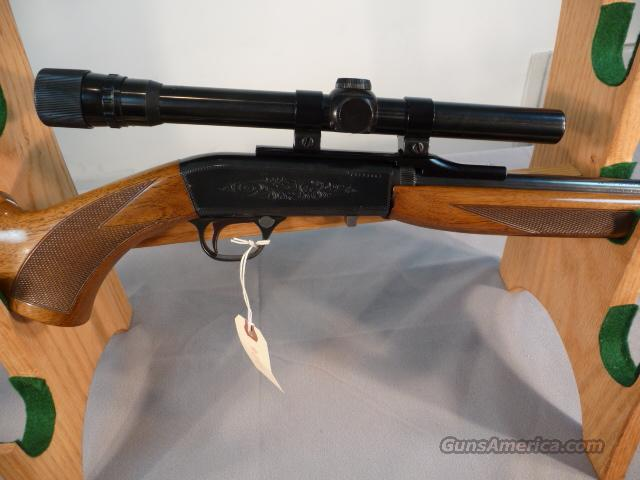 Belgium Browning .22 takedown w/4x scope  Guns > Rifles > Browning Rifles > Semi Auto > Hunting