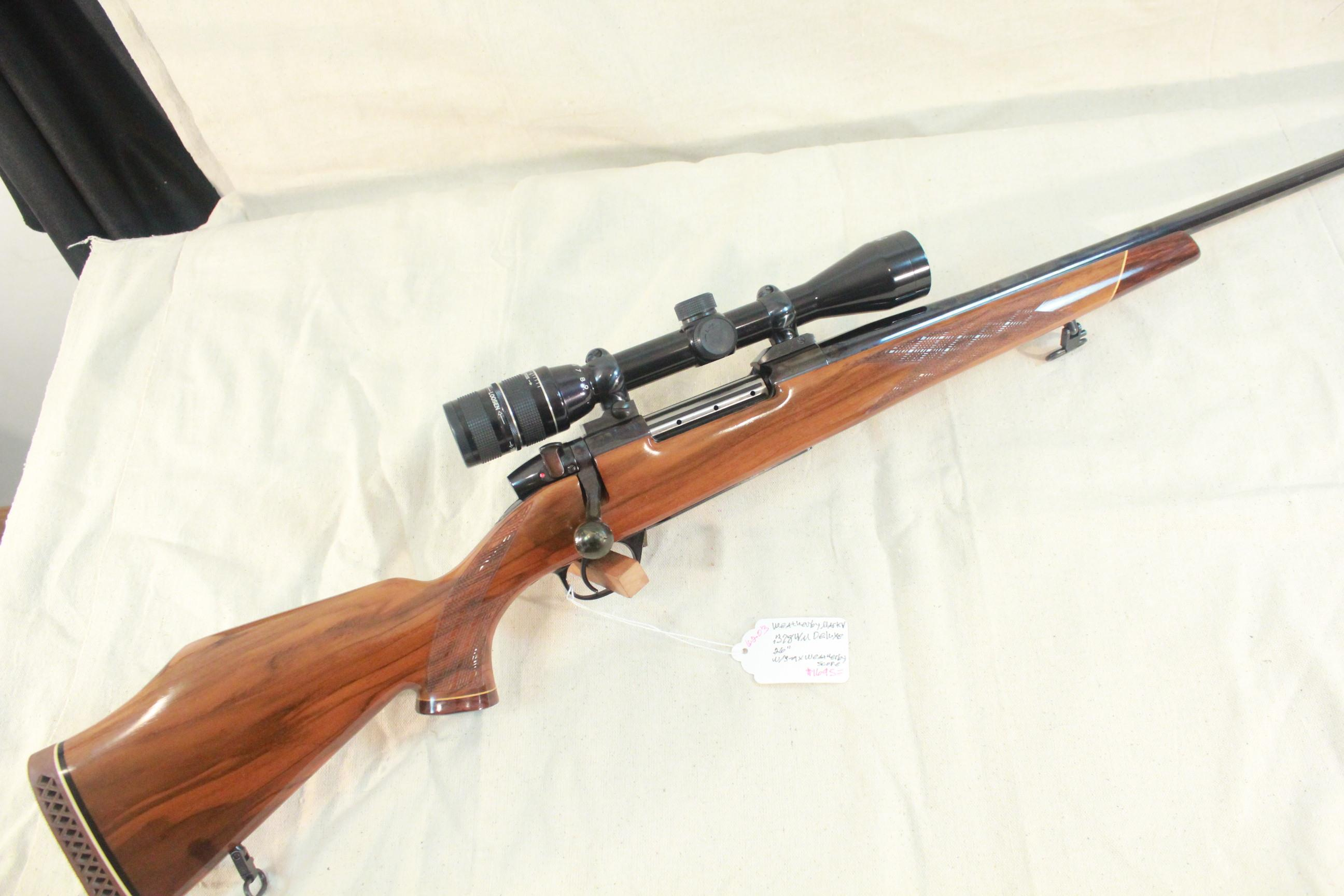 Weatherby Mark V Deluxe in .378 WM with a 3-9x Weatherby Premier scope  Guns > Rifles > Weatherby Rifles > Sporting