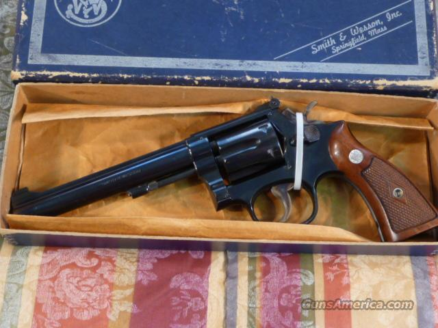 Smith & Wesson Model 17 4-screw .22lr  Guns > Pistols > Smith & Wesson Revolvers > Full Frame Revolver
