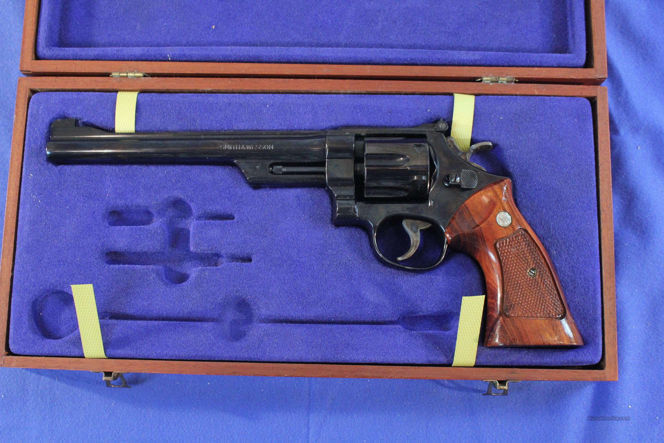"Smith & Wesson .Model 27-2 Blue .357 Magnum, 3T's Cased 8-3/8""  Guns > Pistols > Smith & Wesson Revolvers > Full Frame Revolver"