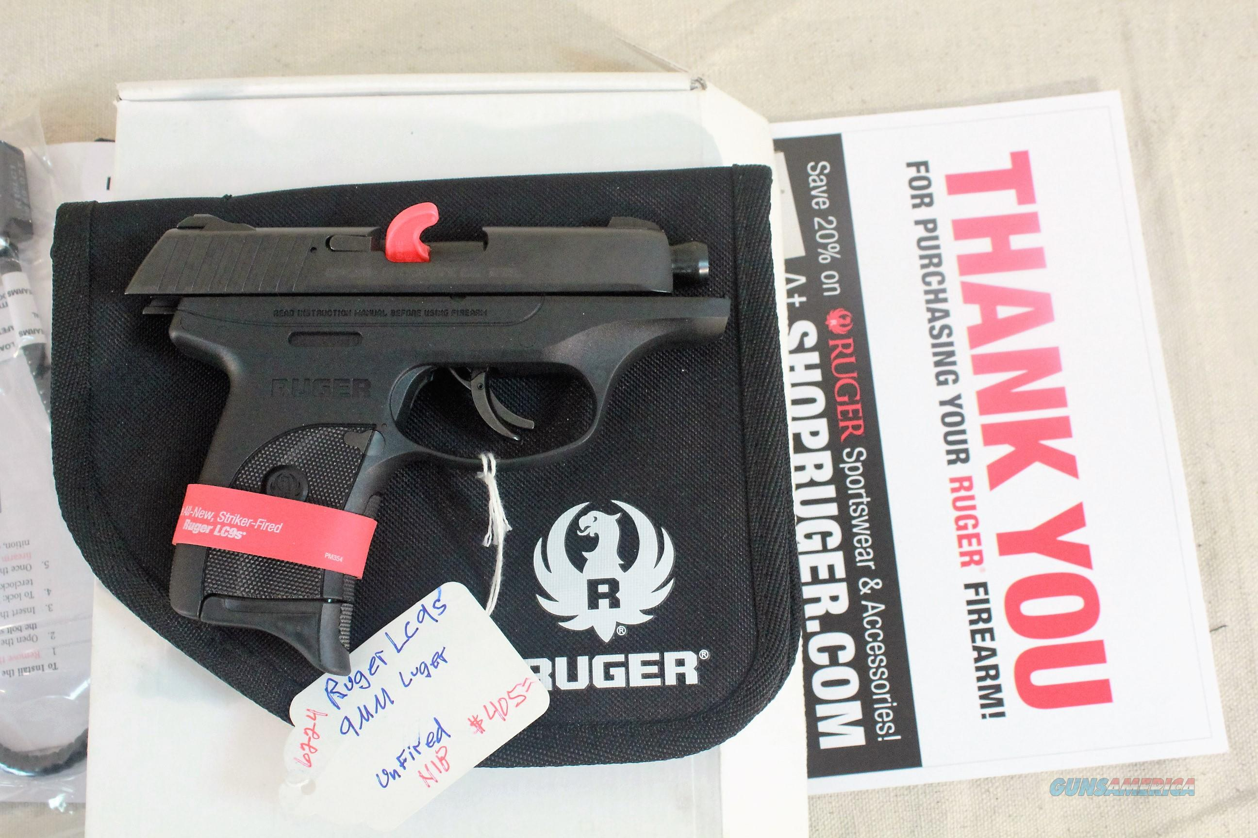 Ruger LC9S, 9mm Striker Action, 3-3/16 barrel  Guns > Pistols > Ruger Semi-Auto Pistols > LC9