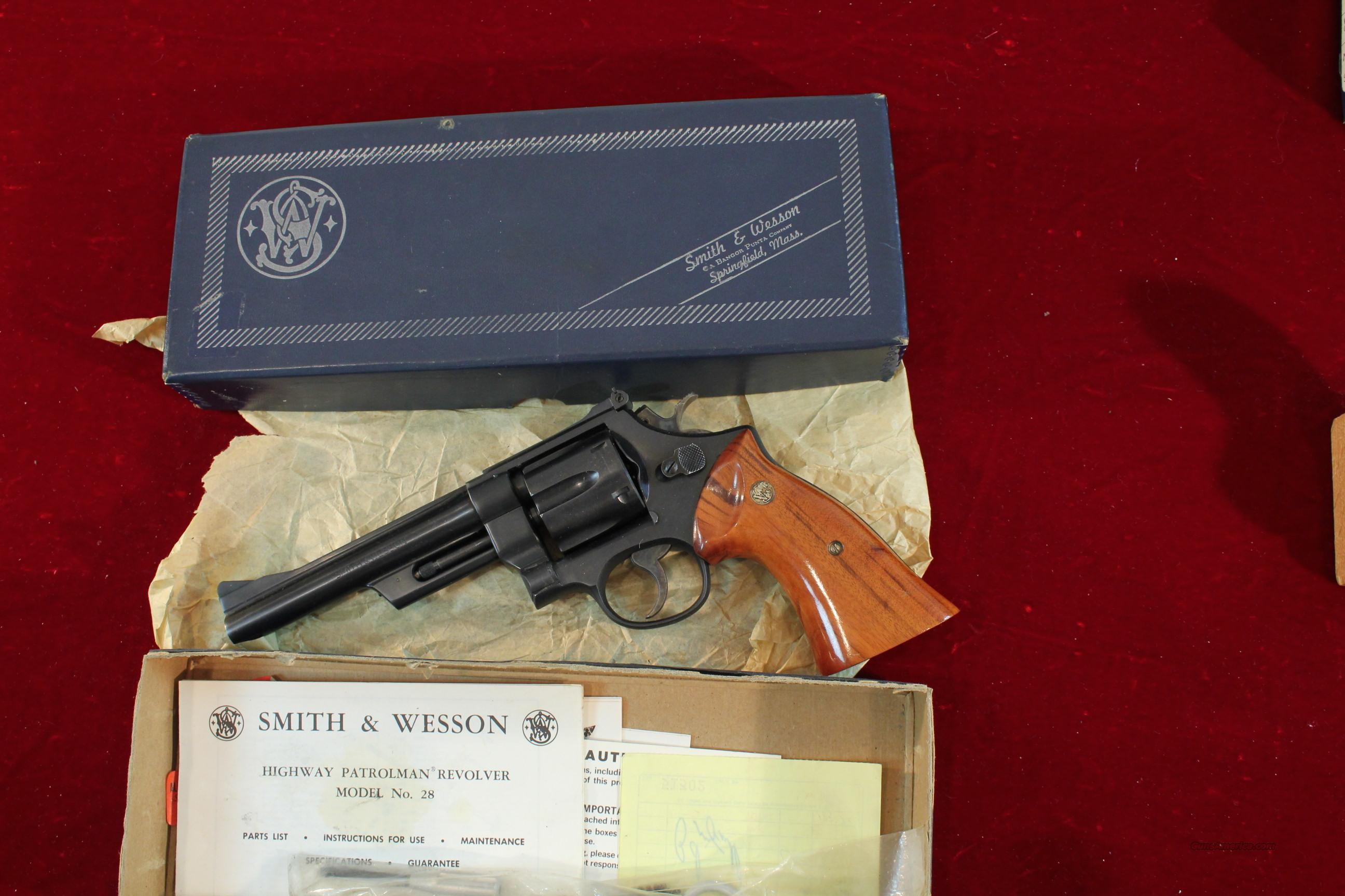 Smith & Wesson Model 28-2 Highway Patrolman  Guns > Pistols > Smith & Wesson Revolvers > Full Frame Revolver