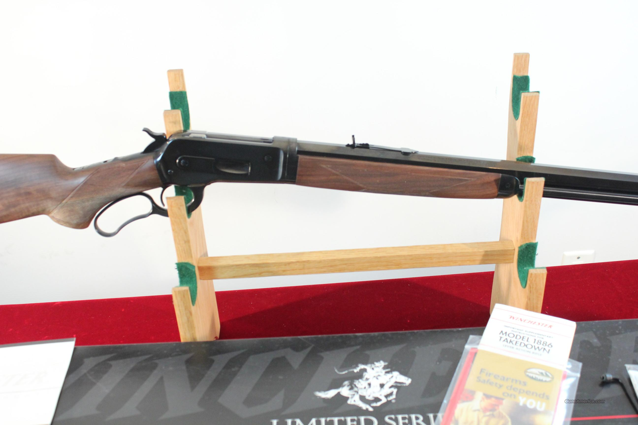 Winchester Model 1886 Deluxe Takedown .45-70  Guns > Rifles > Winchester Rifles - Modern Lever > Other Lever > Post-64