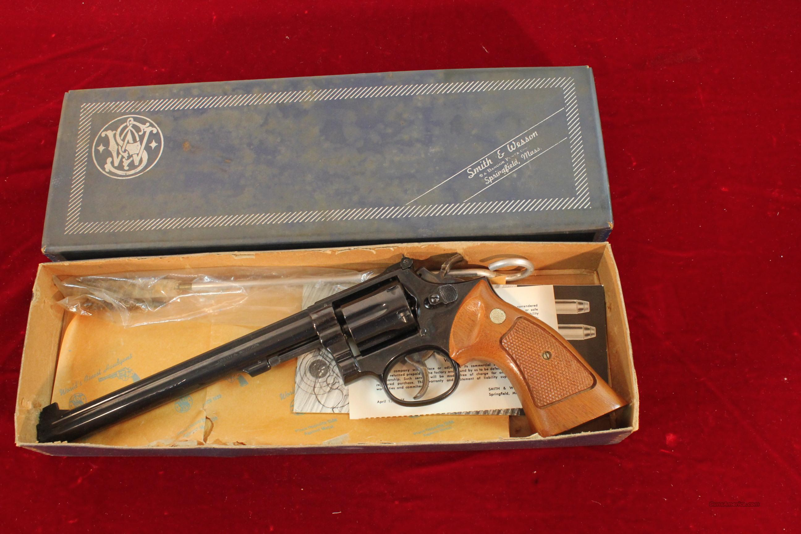 "Smith & Wesson Model 14-3, .38 Special, 8-3/8"" boxed  Guns > Pistols > Smith & Wesson Revolvers > Full Frame Revolver"