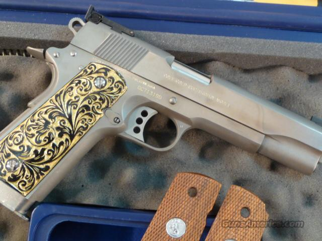 Colt Gold Cup Trophy Bright Stainless Steel .45acp  Guns > Pistols > Colt Automatic Pistols (1911 & Var)