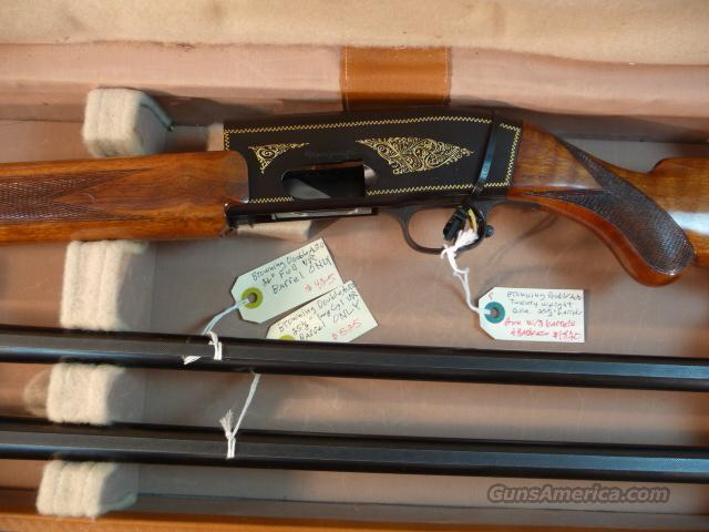 Browning Double Auto Twenty-weight 2-vent rib barrels, cased  Guns > Shotguns > Browning Shotguns > Autoloaders > Hunting