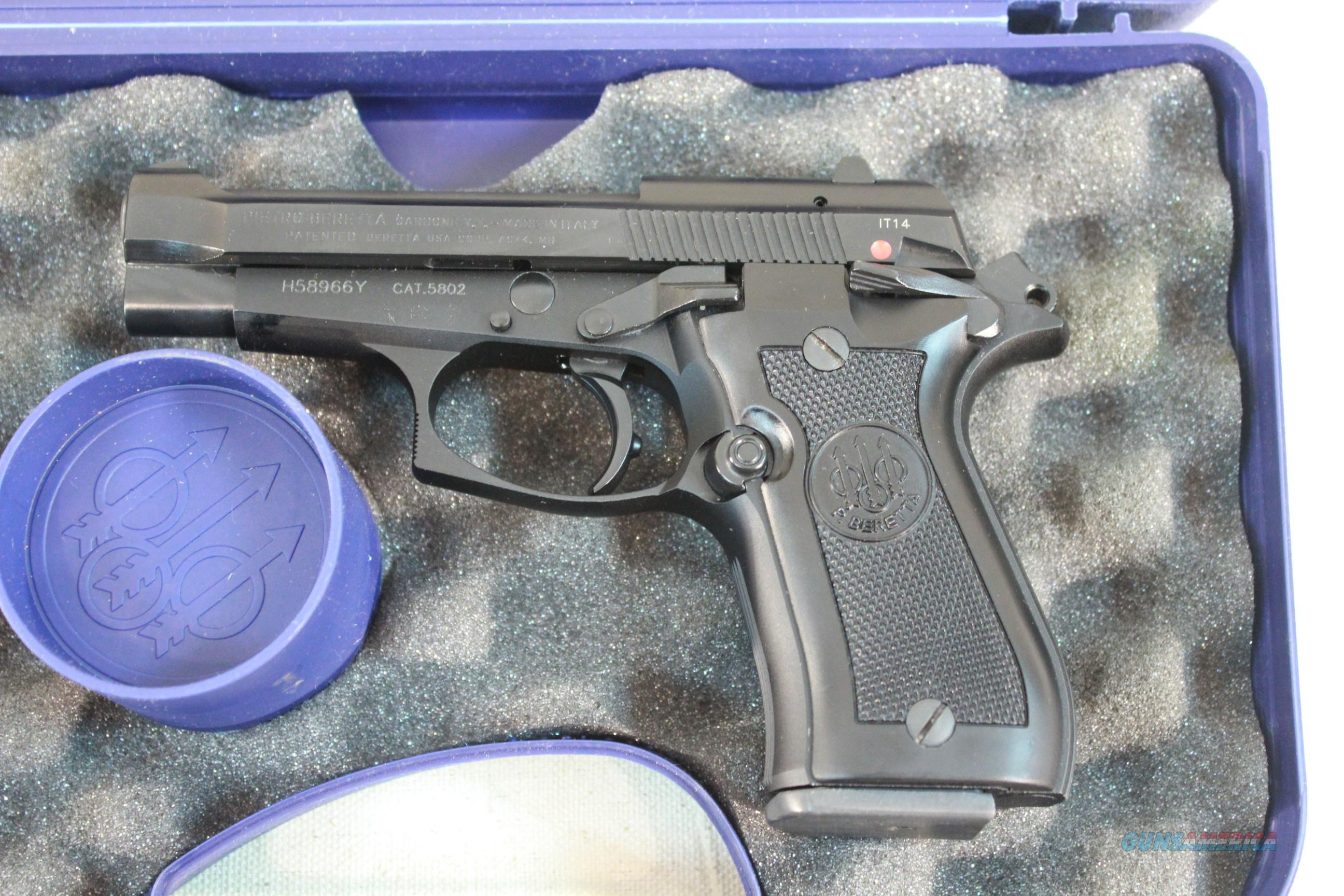 Beretta Model 84FS Cheetah, .380acp Like New in the box w/2 13-round magazines  Guns > Pistols > Beretta Pistols > Cheetah Series > Model 84