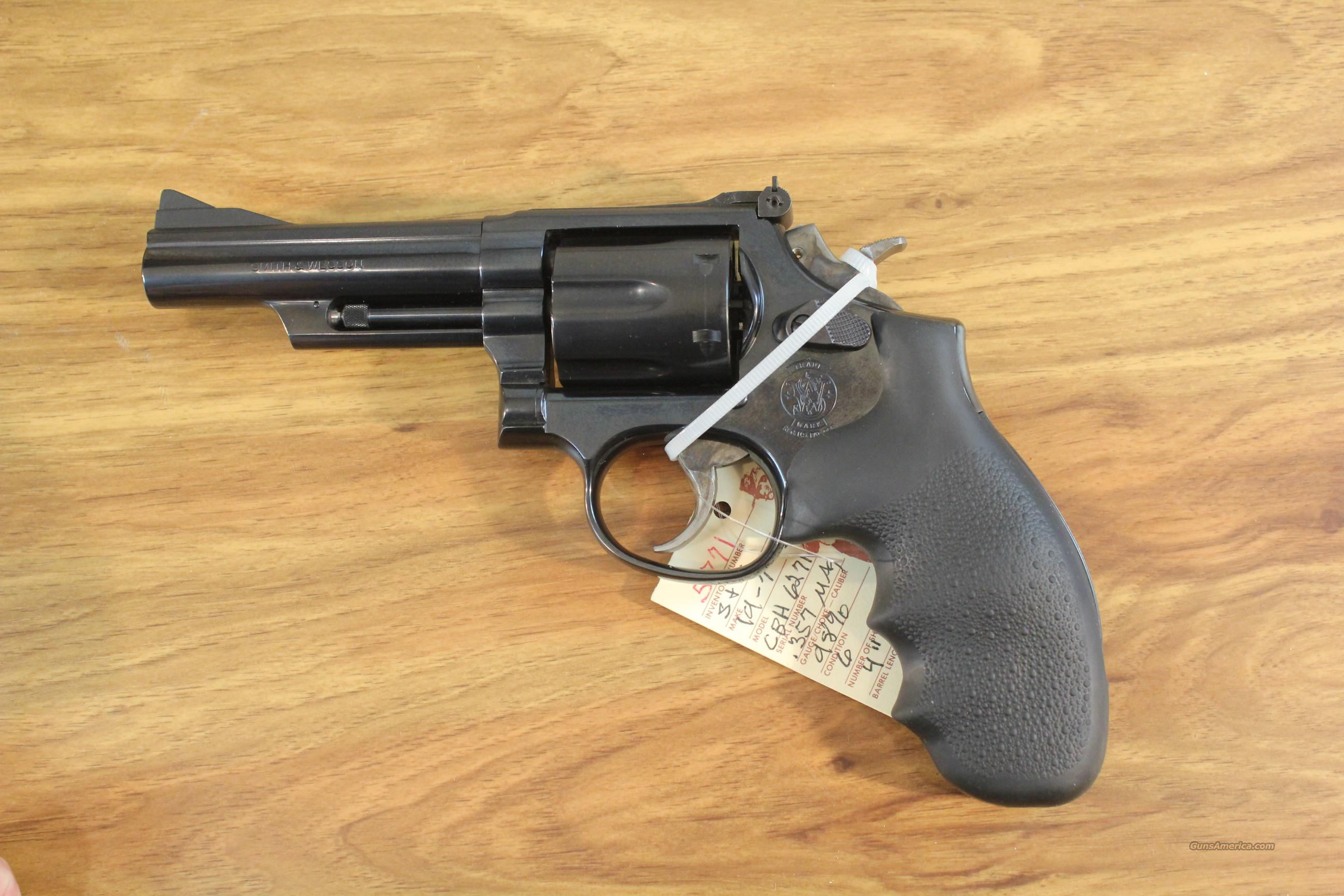"Smith & Wesson S&W Model 19-7 .357 Mag. 4""  Guns > Pistols > Smith & Wesson Revolvers > Full Frame Revolver"