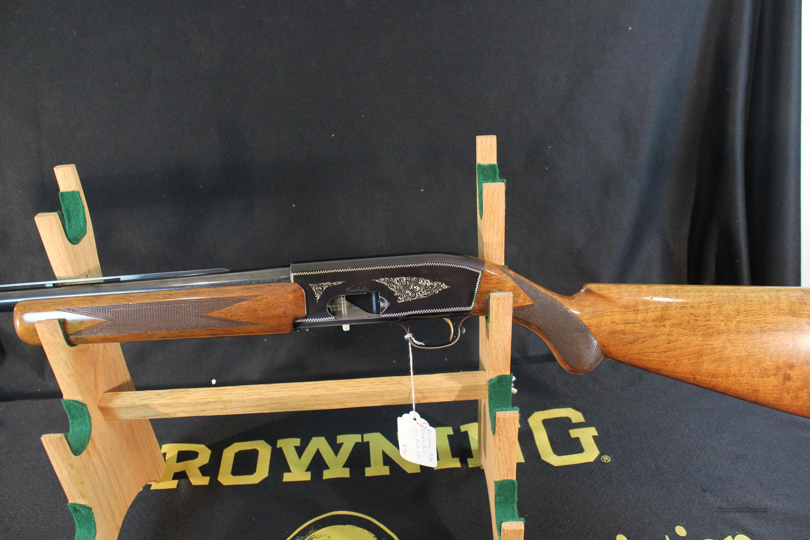 "Browning Double Auto Twelvette 29-1/2"" Full choked VR barrel  Guns > Shotguns > Browning Shotguns > Autoloaders > Hunting"